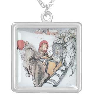 Christmas Nisse and Kirsti Necklace