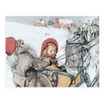 Christmas Nisse and Kirsti Postcards