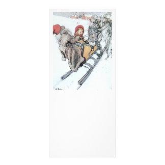 Christmas Nisse and Kirsti Rack Card Design