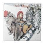 Christmas Nisse and Kirsti Tile