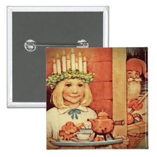 Christmas Nisse and Lucia Day Karin Button