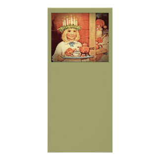 Christmas Nisse and Lucia Day Karin Rack Card
