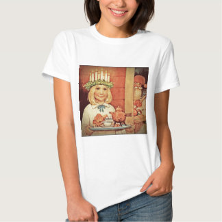 Christmas Nisse and Lucia Day Karin Shirt
