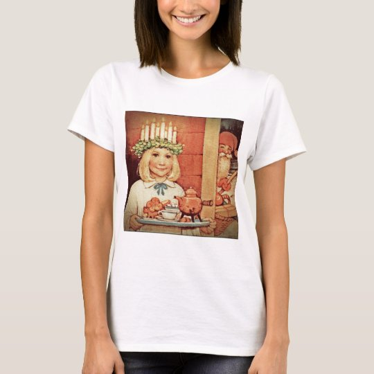 Christmas Nisse and Lucia Day Karin T-Shirt