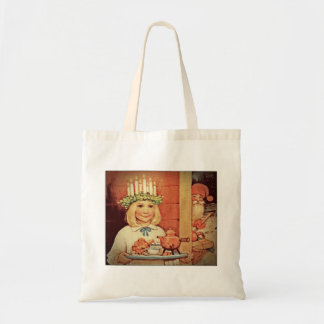 Christmas Nisse and Lucia Day Karin Tote Bag
