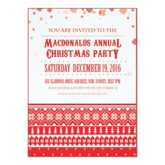Christmas Nordic Scandinavian Holiday Invitations