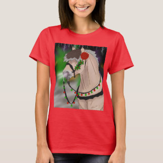 Christmas Norwegian Fjord Horse T-Shirt
