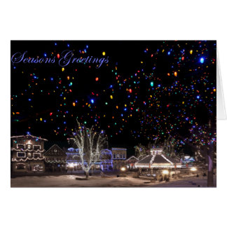 Christmas Notecards:  'Northern Lights' Card