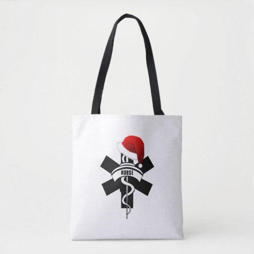 Christmas Nurses Holidays Tote Bag