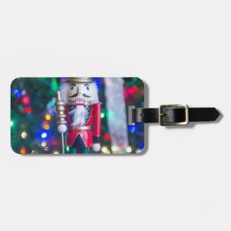 Christmas nutcracker decorations bag tag
