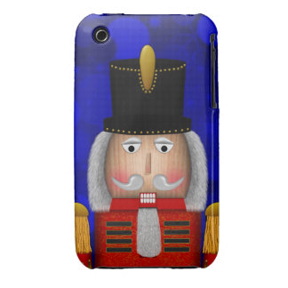 Christmas Nutcracker Face Red-iPhone 3g Case