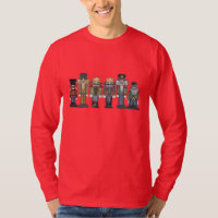 Christmas Nutcracker Holiday cartoon t-shirt