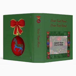 Christmas Nutcracker Holiday Photo Album Binder