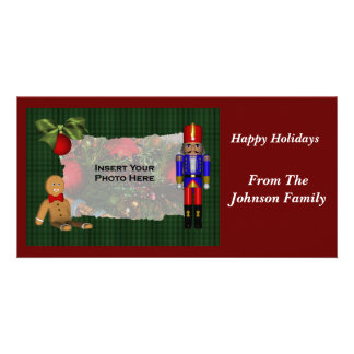 Christmas Nutcracker Holiday Photo Card
