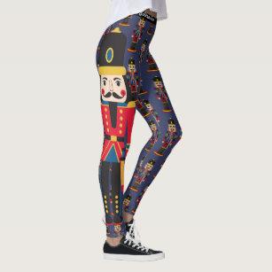 b467f1246b5ea Christmas Nutcracker Leggings Bold Women's Pants