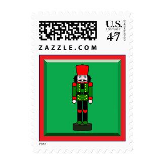 Christmas Nutcracker on Duty Postage