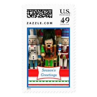 Christmas Nutcracker Postage Stamp Custom