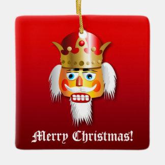 Christmas Nutcrackers Ceramic Ornament