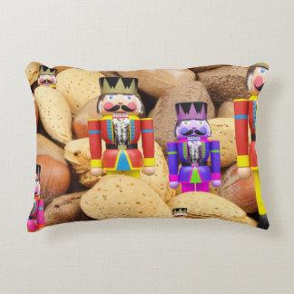 Christmas Nutcrackers Accent Pillow