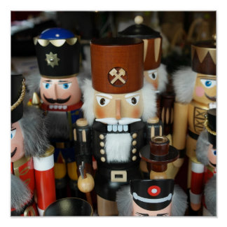 Christmas Nutcrackers Poster