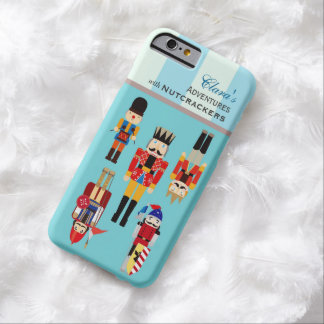 Christmas Nutcrackers Soldiers Adventures Barely There iPhone 6 Case