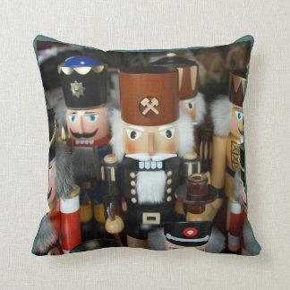 Christmas Nutcrackers Throw Pillow