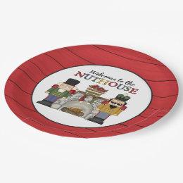 Christmas nuthouse nutcracker paper plate ...  sc 1 st  Zazzle & The Nutcracker Plates | Zazzle