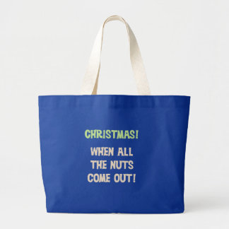 Christmas Nuts Tshirts and Gifts Canvas Bags