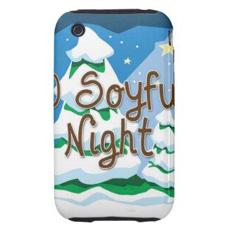 Christmas O Soyful Night Tough iPhone 3 Cases