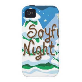 Christmas O Soyful Night Vibe iPhone 4 Cover