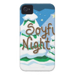 Christmas O Soyful Night iPhone 4 Cover