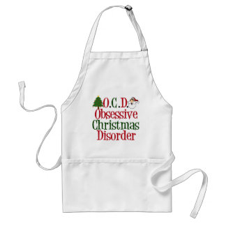 Christmas Obsession Adult Apron