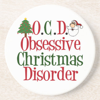 Christmas Obsession Drink Coaster
