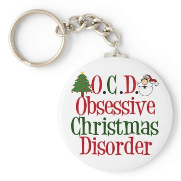 Christmas Themed Christmas Obsession Keychain