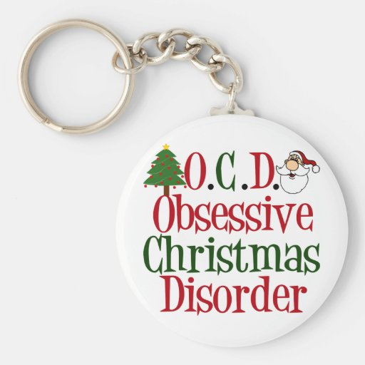 Christmas Obsession Keychain