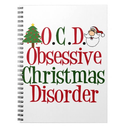 Christmas Obsession. Notebook