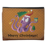 Christmas Octopus Trifold Wallet