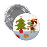 Christmas of dog - pins