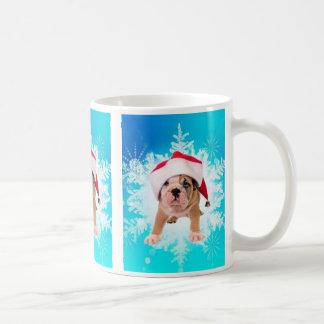 Christmas of dog - tazas de café