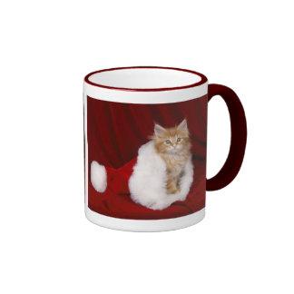 Christmas off cat - coffee mugs