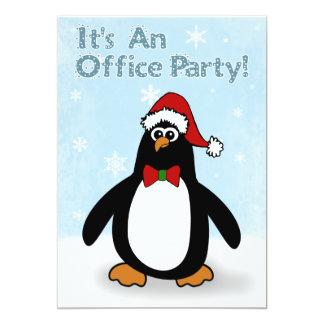 "Christmas Office Party Invitations 5"" X 7"" Invitation Card"