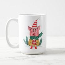 Christmas Oink Coffee Mug