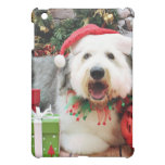 Christmas - Old English Sheepdog - Alphy Case For The iPad Mini