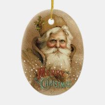 Christmas Old World Santa 2 Christmas Ornament