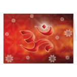 Christmas om greeting cards