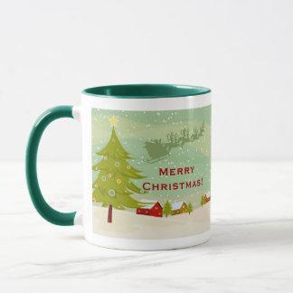 Christmas on a village land Mug