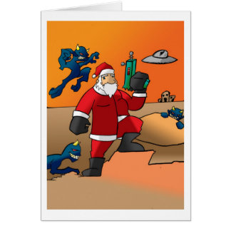 Christmas on Mars Card