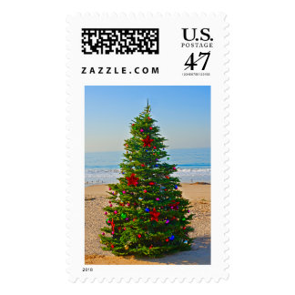 Christmas on the Beach from Stephanie Rausser Postage