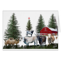 Christmas on the Farm Card