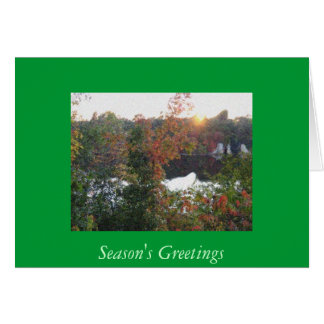Christmas On  the Mississippi Card